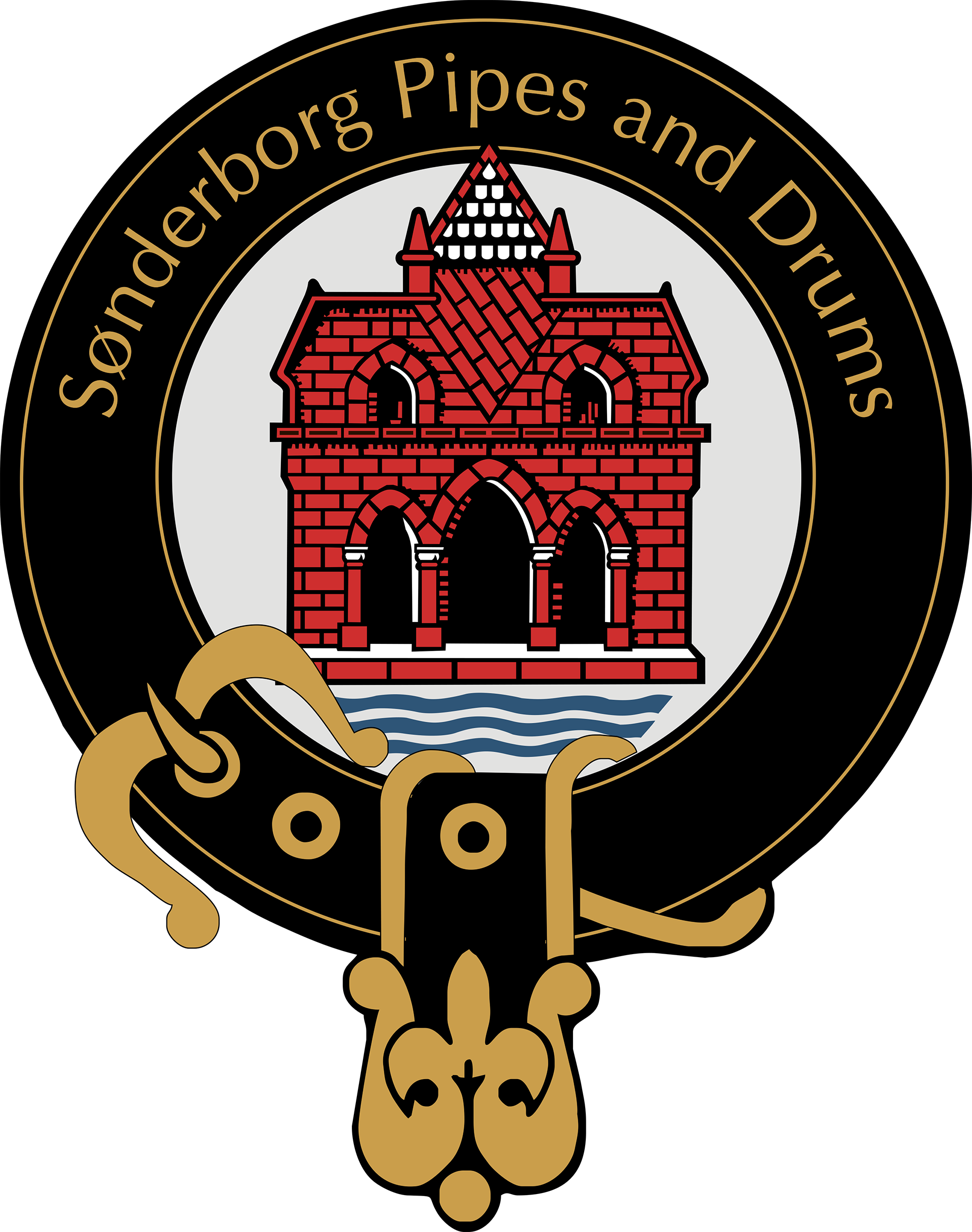 Sønderborg Pipes and Drums Logo